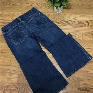 7 FOR ALL MANKIND 26 women's jeans A Pocket Flair